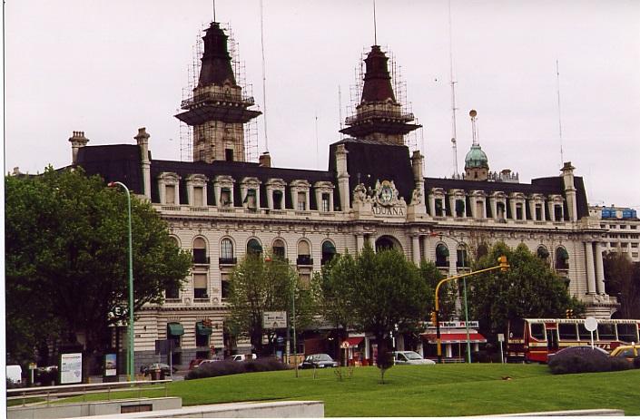 Der Zoll in Buenos Aires