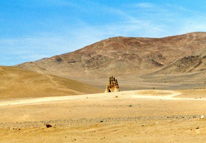 El Mano in der Nähe von Antofagast