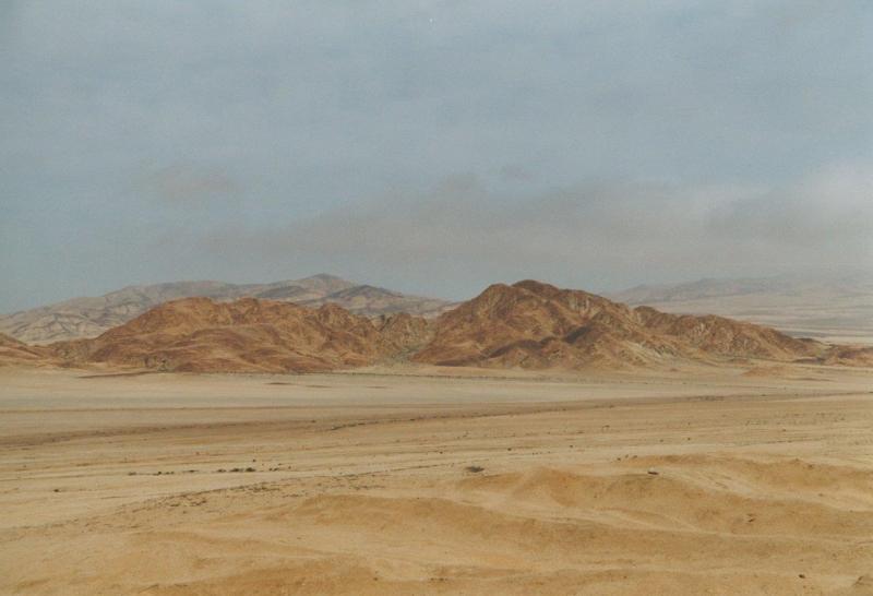 Atacama Wüste in Pastellfarben