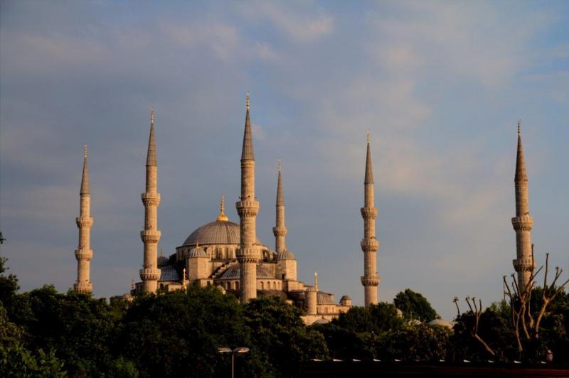 Blaue Moschee Aussen
