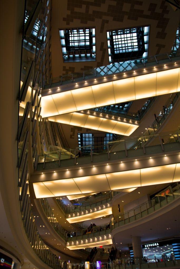 Shopping Center Nu Central in Kuala Lumpur