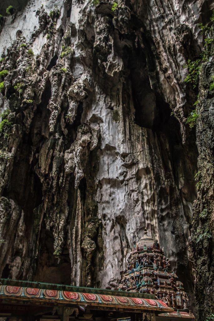 In den Batu Caves in Kuala Lumpur