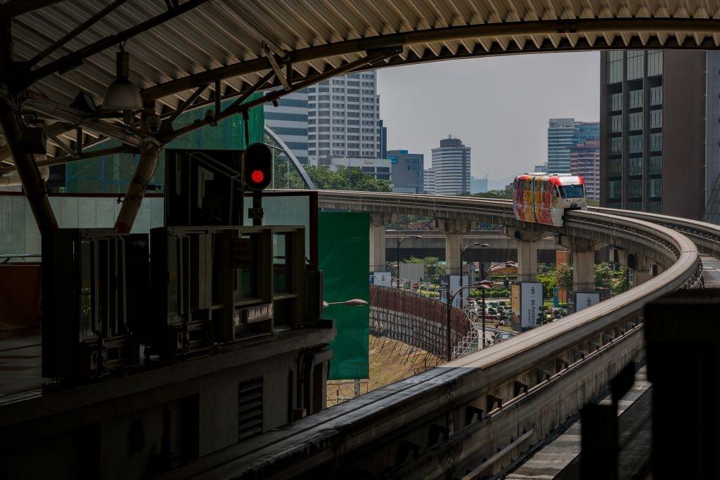 Mono-Rail in Kuala Lumpur