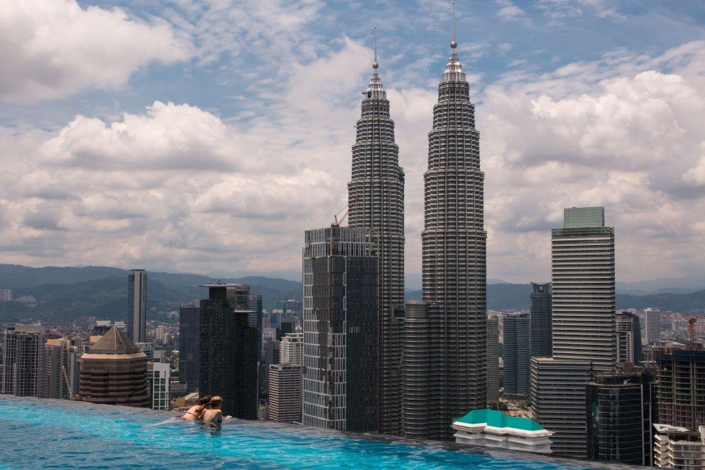 The Face in Kuala Lumpur, Infinity Pool