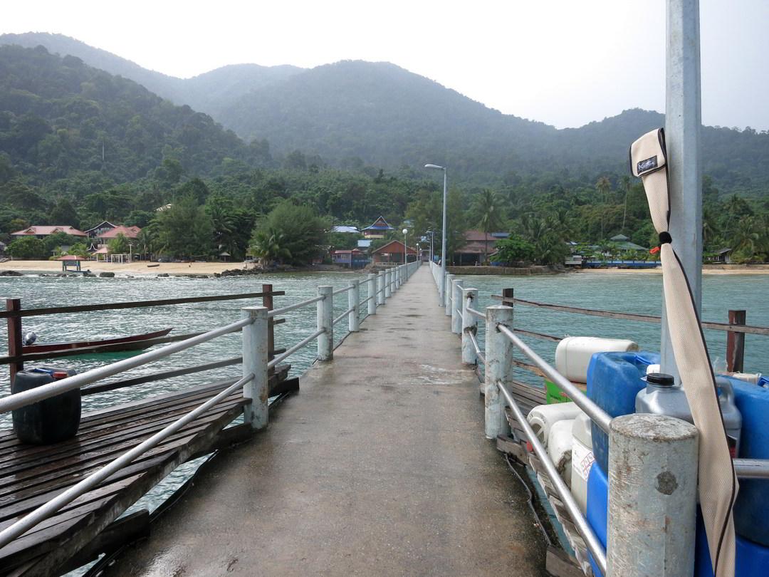 Jetty in Genting, Pulau Tioman, Malaysia