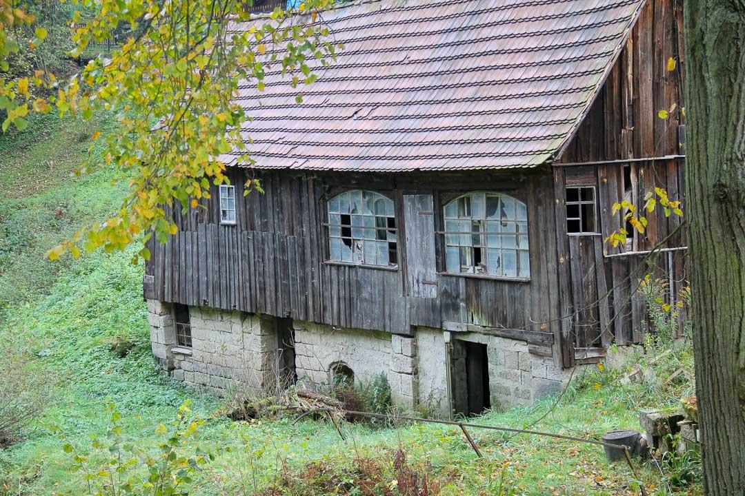 Verfallener Bauernhof