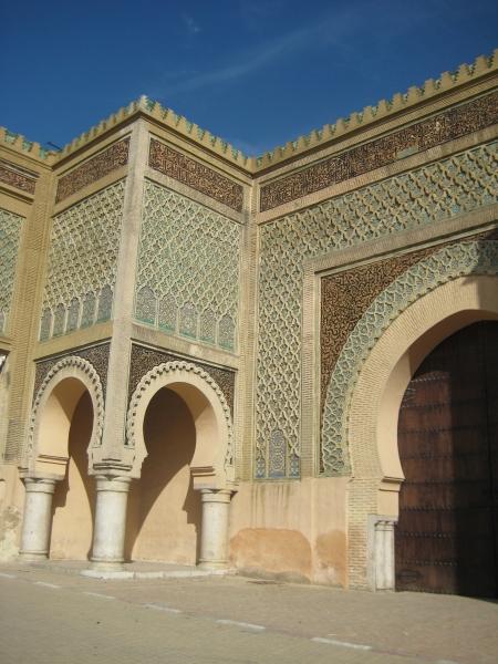 Palasttür in Meknes