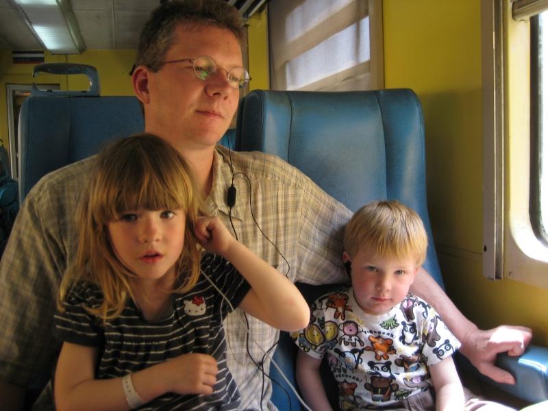 Im Zug nach Rabat