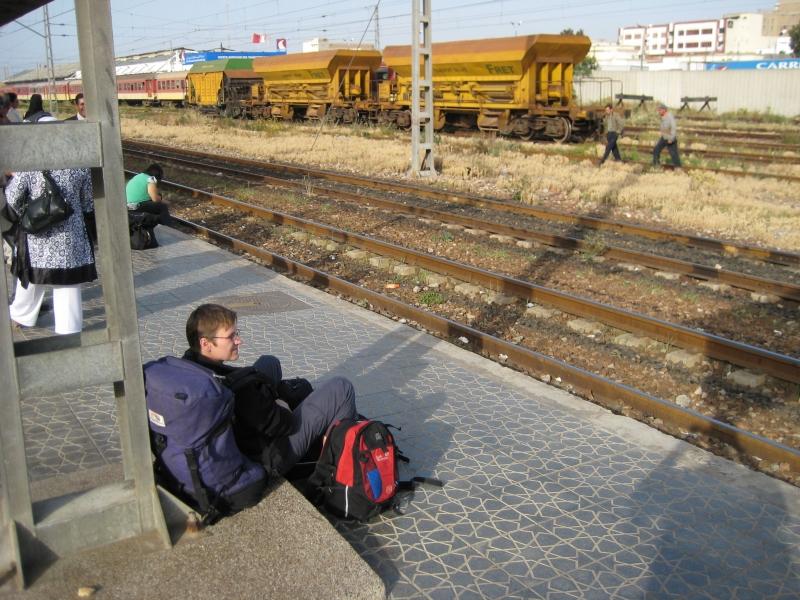 Bahnhof in Casablanca