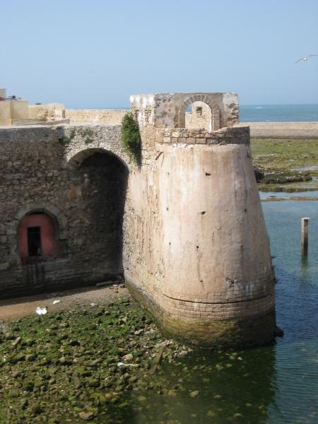 Hafenmauer in El-Jadida
