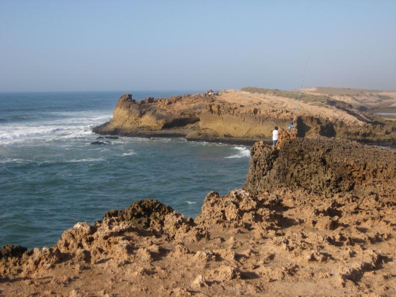 Küste von Oualidia