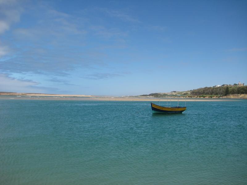 Lagune in Oualidia