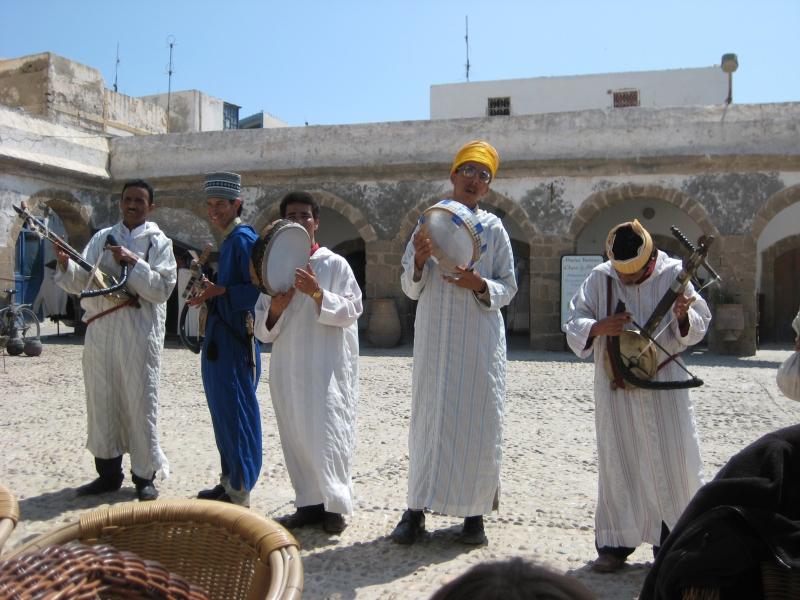 Musikanten in Essaouria