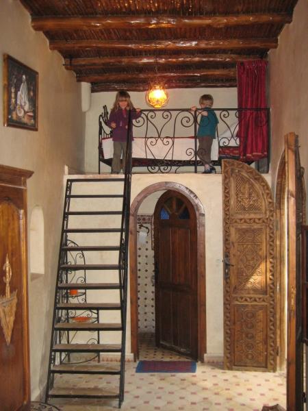 Unser Zimmer in Essaouria