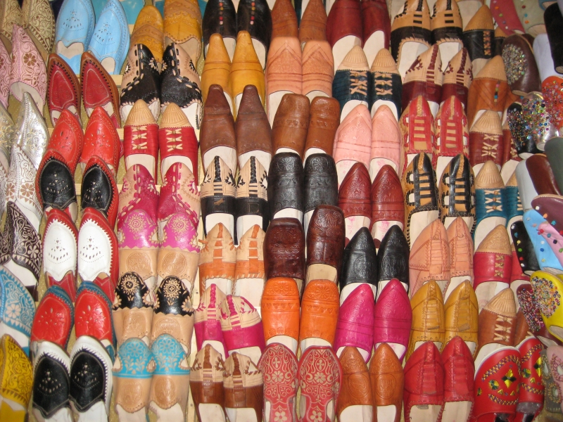 Schuhe in Essaouria