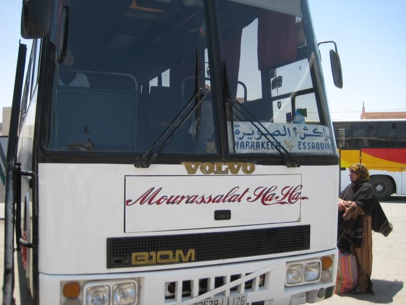 Unser Bus in Essaouria