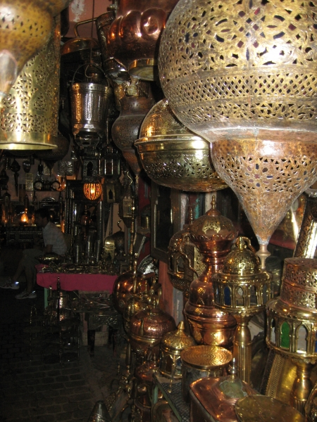 In den Souks von Marrakech