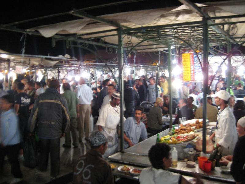 Djemma el-Fna in Marrakech