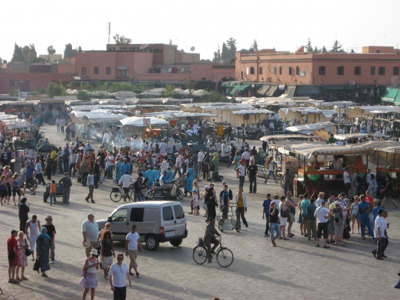 Djemma el-Fna in Marrakech