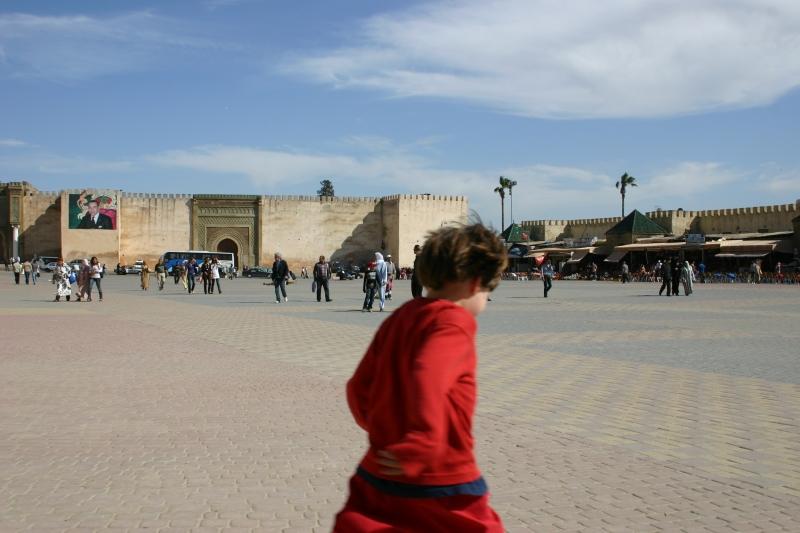 Marktplatz von Meknès