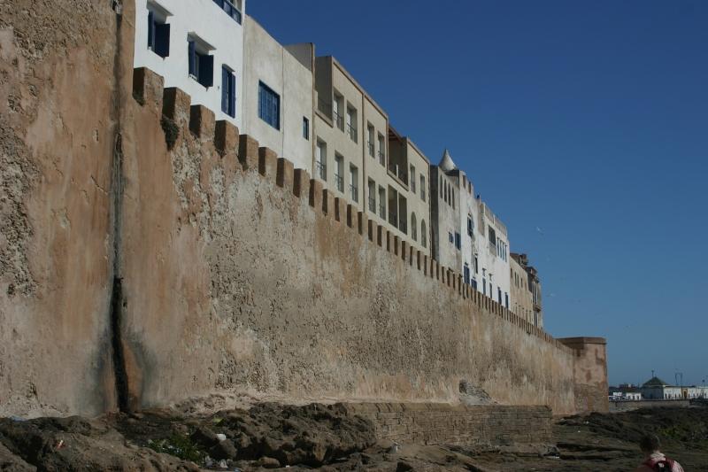 Stadtmauer in Essaouria