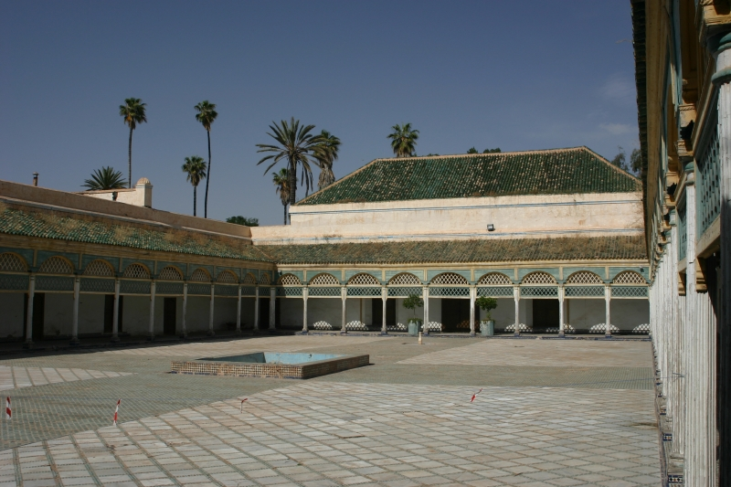 Palais de la Bahia in Marrakech