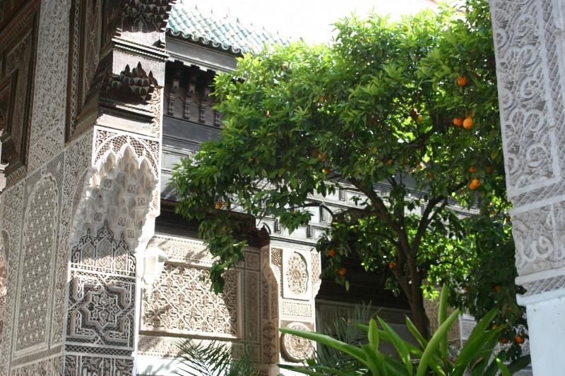 Palais de la Bahia in Marrakech
