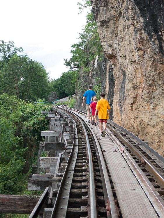 Death Railway, Kanchanaburi