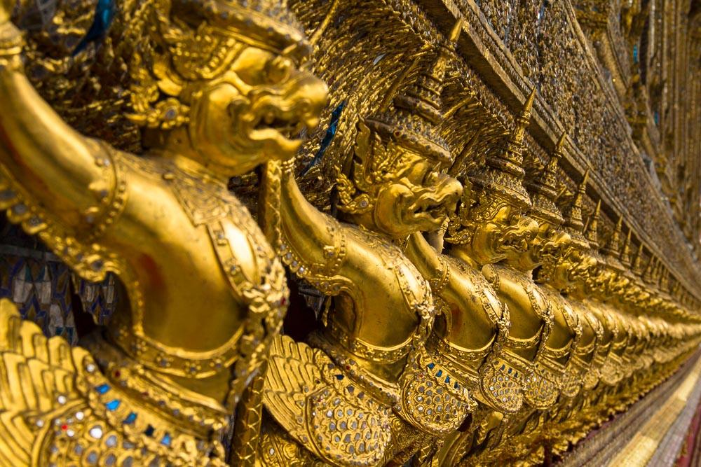 Königspalast, Wat Phra Kaeo, Bangkok