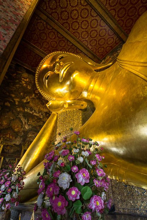 Liegender Buddha, Wat Pho, Bangkok