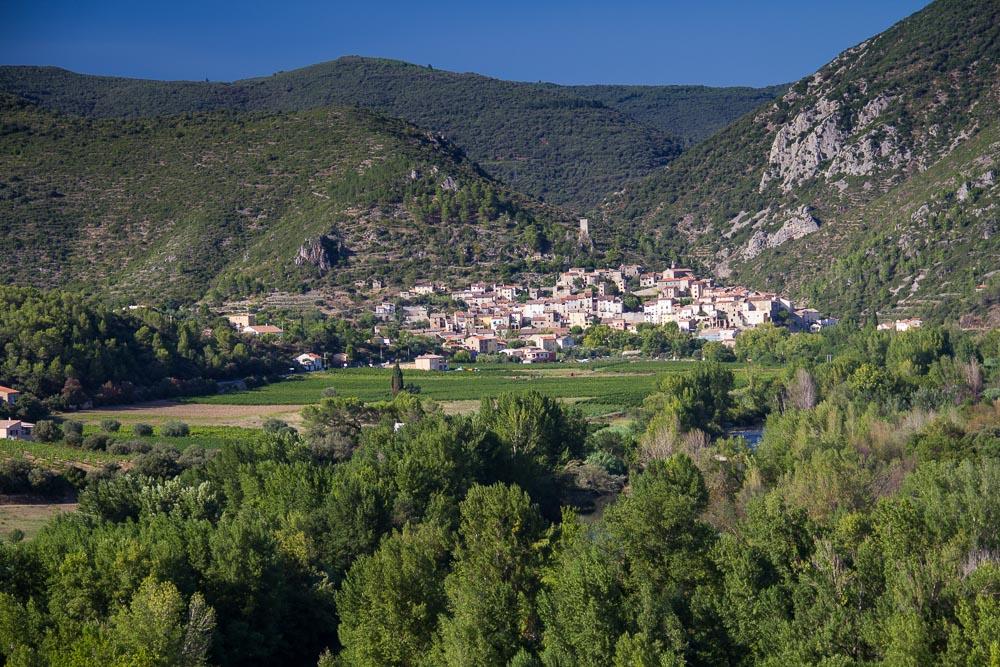 Roquebrun, Frankreich