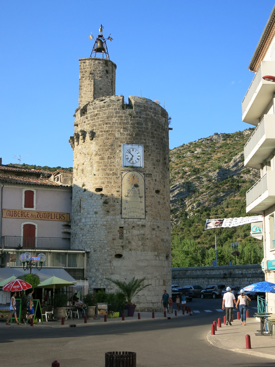 Anduze, Cévennen, Frankreich