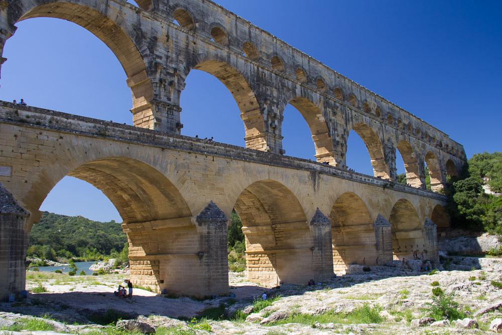 Pont du Gard, Gardon, Cévennen, Frankreich