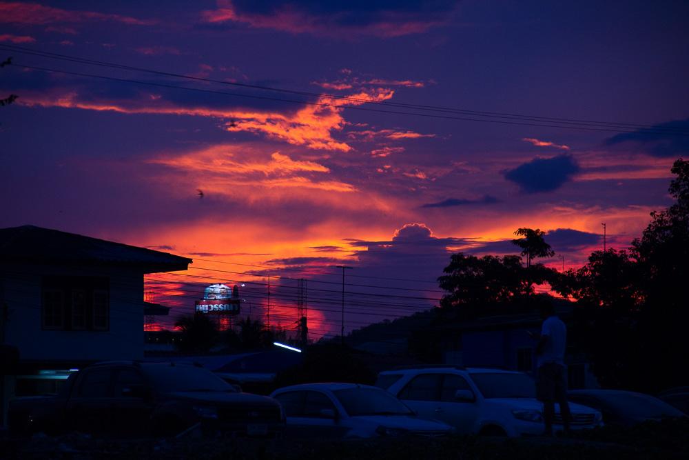 Hua Hin Sonnenuntergang