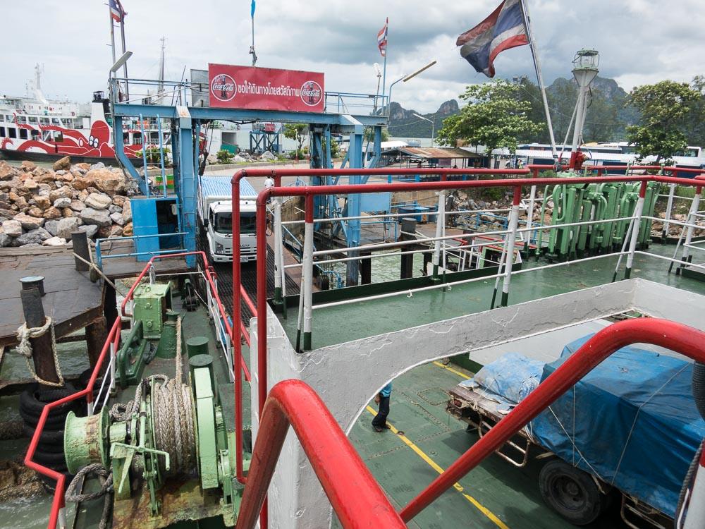 Thailand Faehre Ko Pha-Ngan