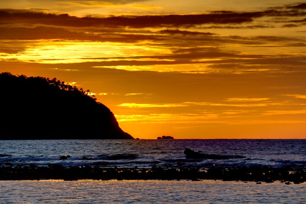 Thailand Ko Pha-Ngan Sonnenuntergang