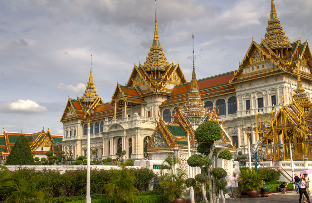 Königspalast, Chakri Maha Prasat, Bangkok