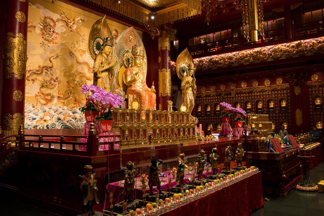 Buddha Tooth Relic Tempel, Singapur
