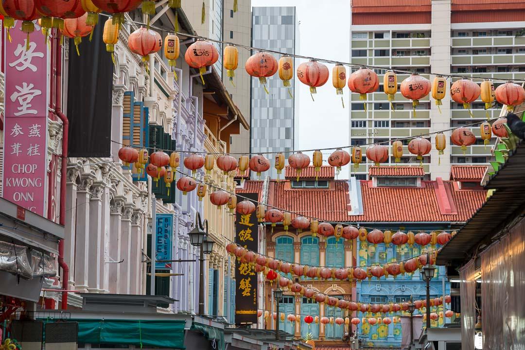 Chinatown Foodstreet, Singapur