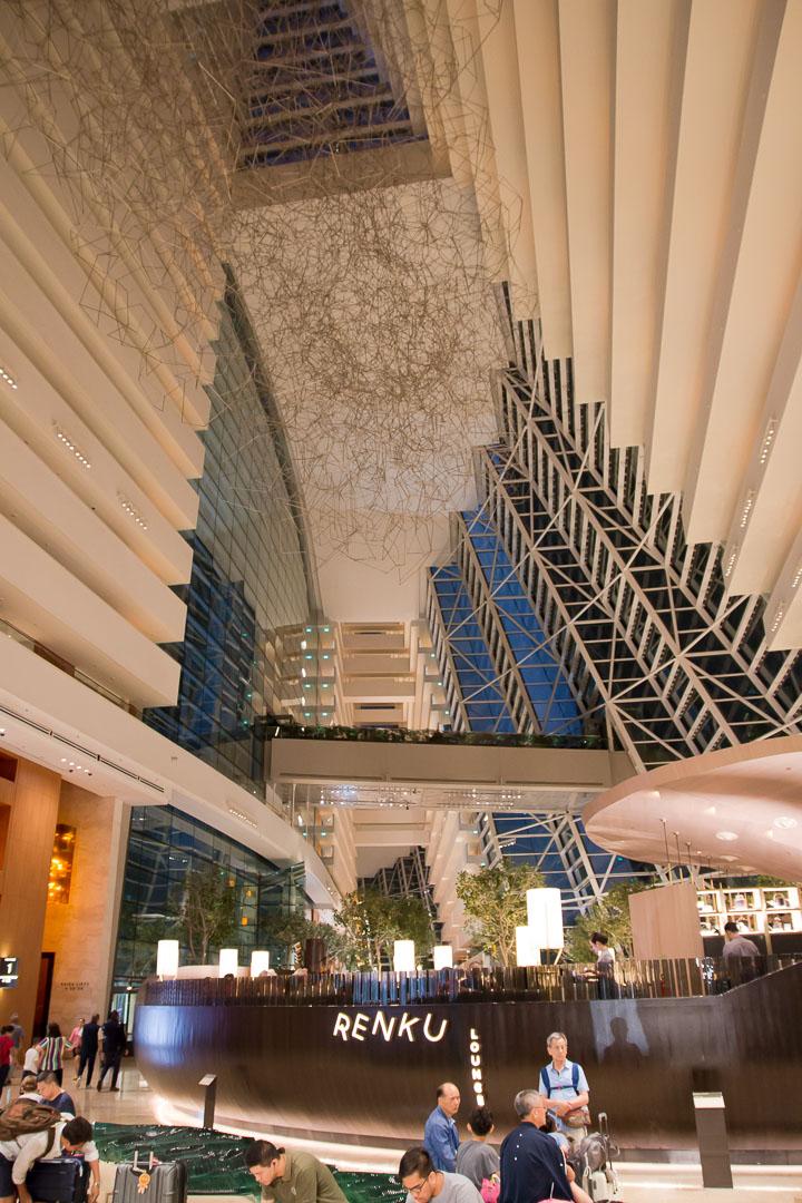 Marina Bay Sands Hotel von innen, Singapur