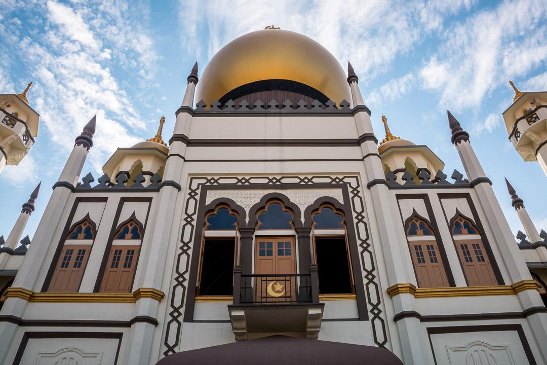 Sultan Masjid Moschee, Singapur