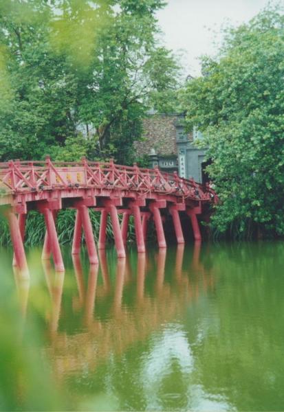 Hanoi - Brücke