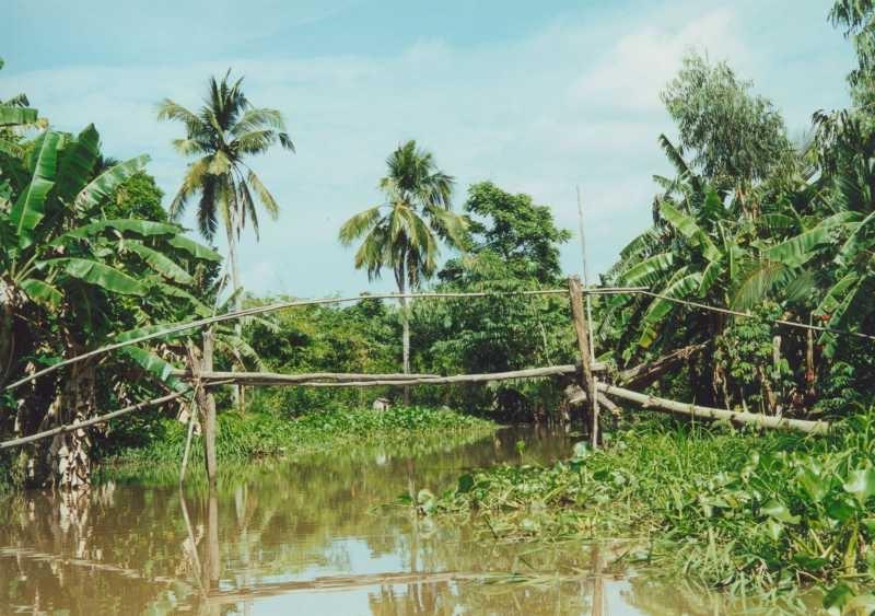 Mekong Delta - Brücke