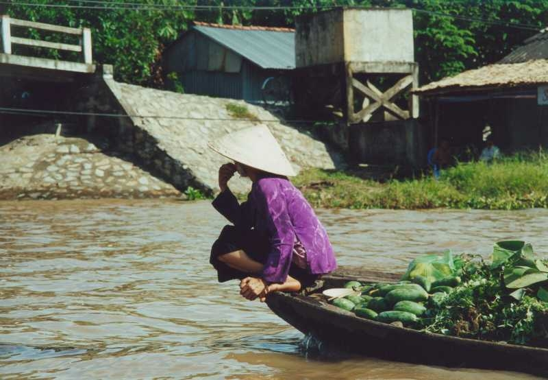 Mekong Delta - Floatingmarket