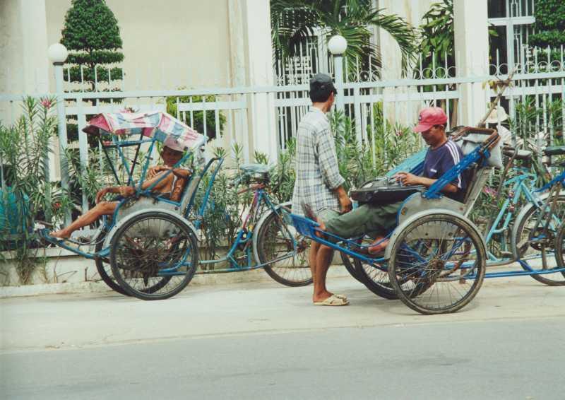 Hanoi -Rickscha