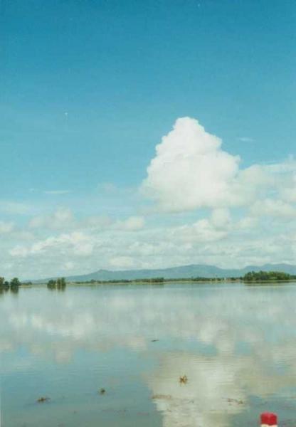 Reise - Überflutete Landschaft