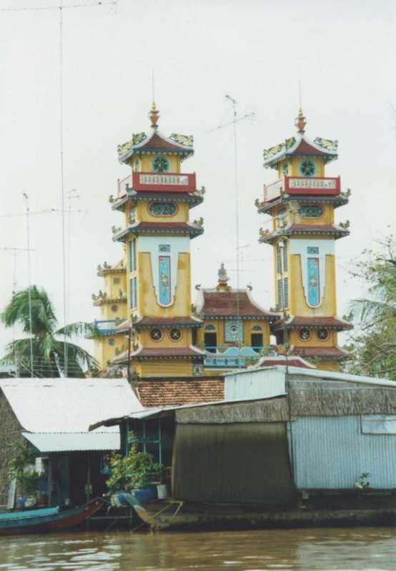 Mekong Delta - church