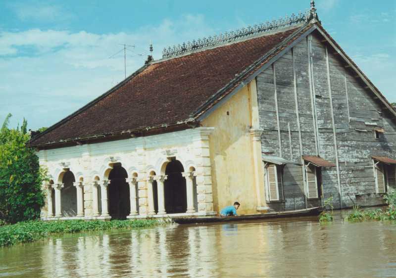 Mekong Delta - Islamische Kirche