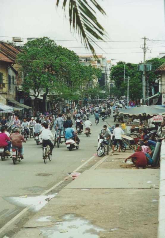 Saigon - Verkehr
