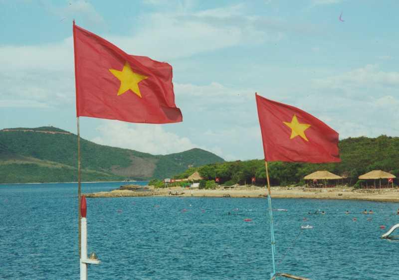Vietnam - Flagge